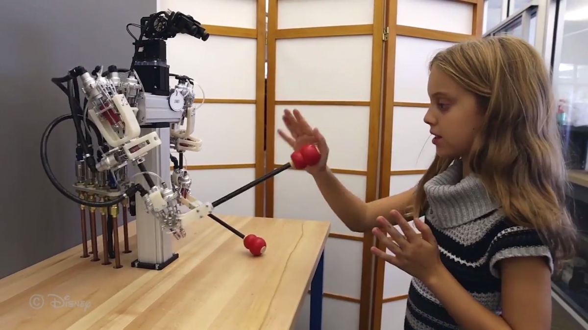 Disney's telepresence robot