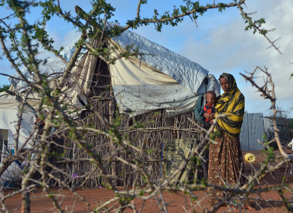 Dadaab refugee camp in Kenya