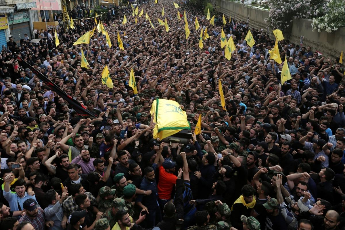 Mustafa Badreddine funeral