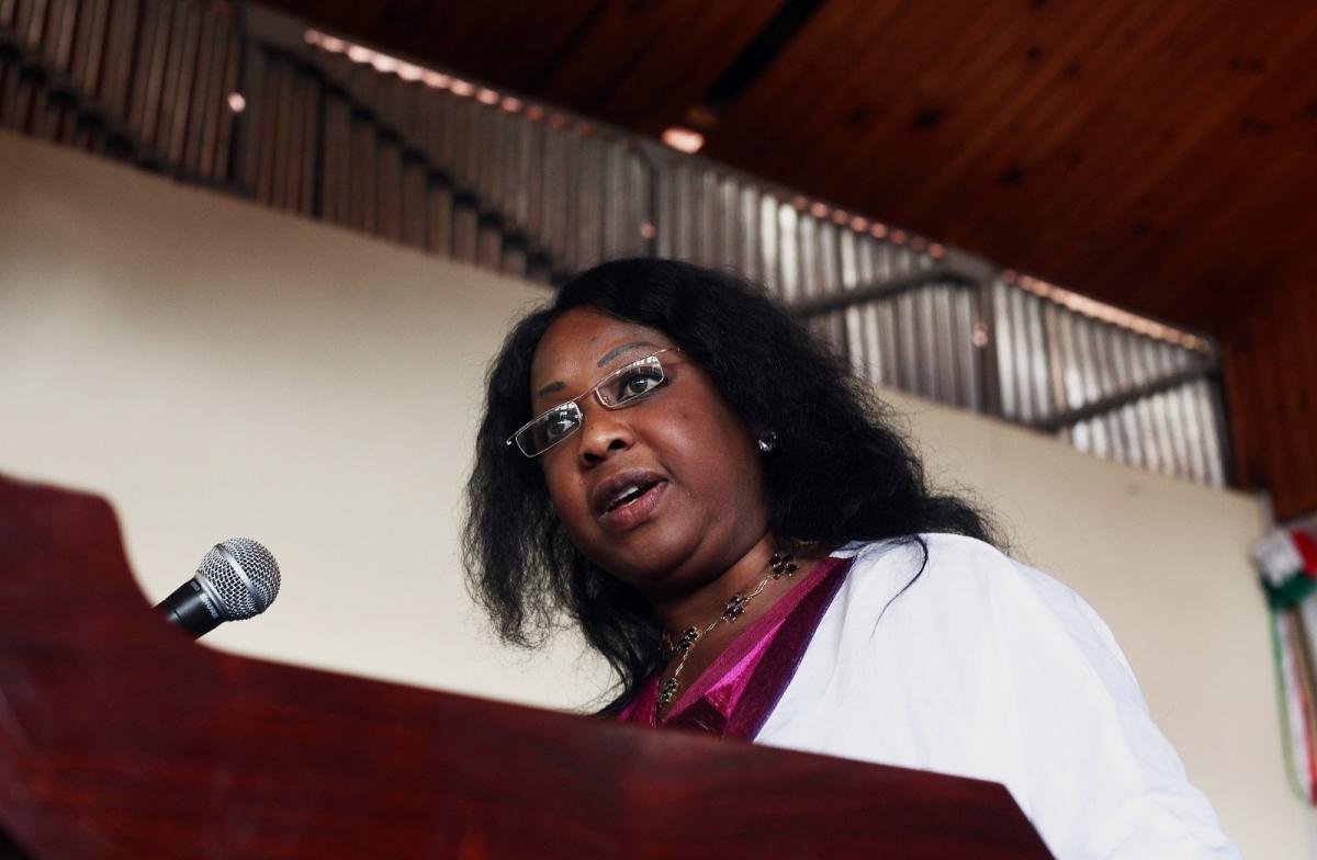 Fatma Samoura in 2012