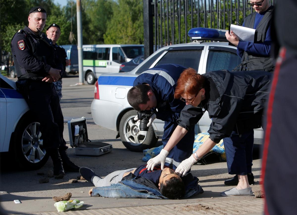 Moscow Mass Brawl Victim