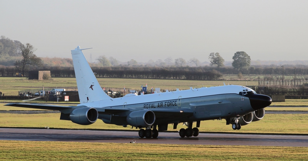 RAF Rivet Joint spy plane