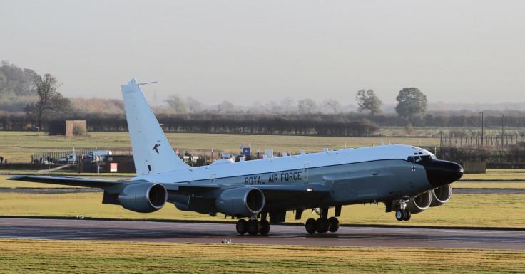 RAF Rivet Joint spy plane