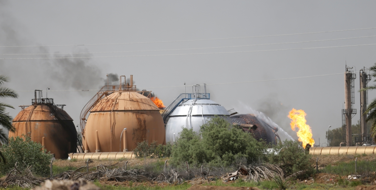 Isis Baghdad Taji gas factory 2016