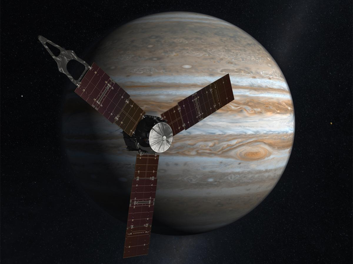 Here are ten key facts about Nasa's amazing Juno mission to the gas giant Jupiter