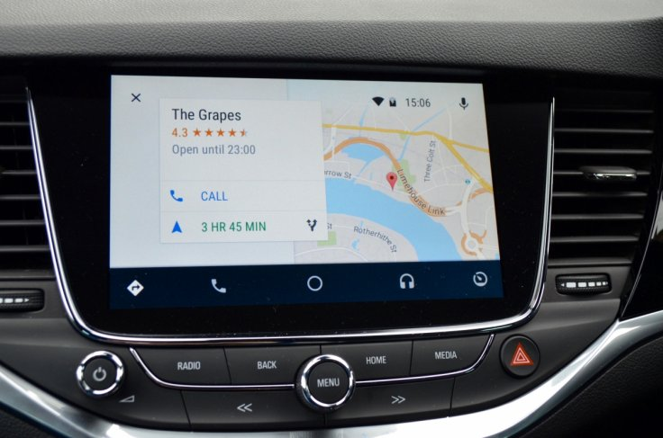 Android Auto in Vauxhall Astra with OnStar