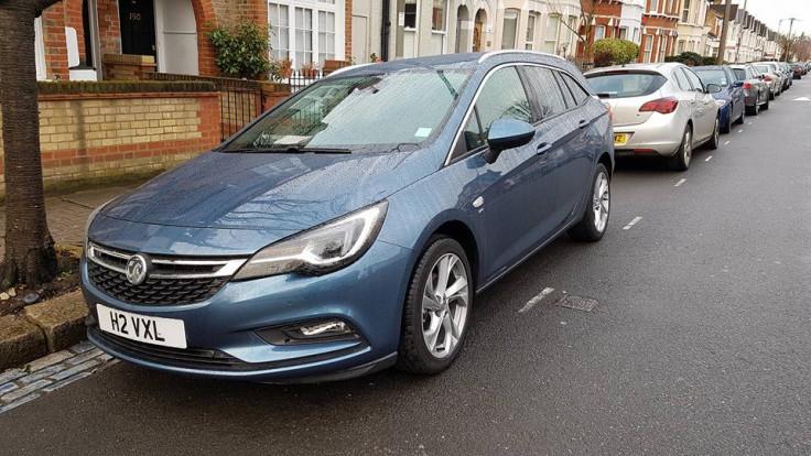 Vauxhall Astra estate 2016