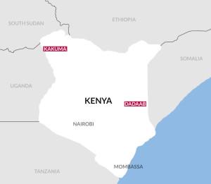 Refugee camps in Kenya