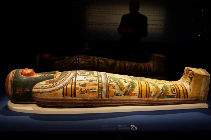 The mummy of Nesperennub