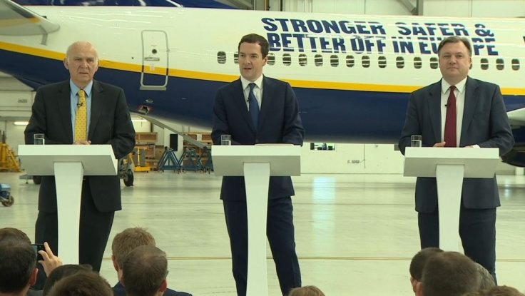 George Osborne, Ed Balls and Vince Cable