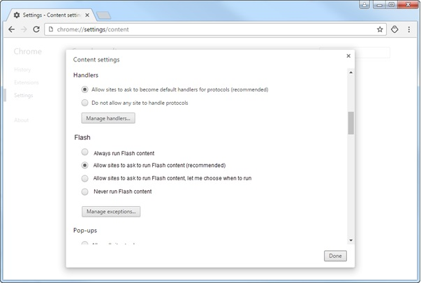 Chrome Flash support for enterprises