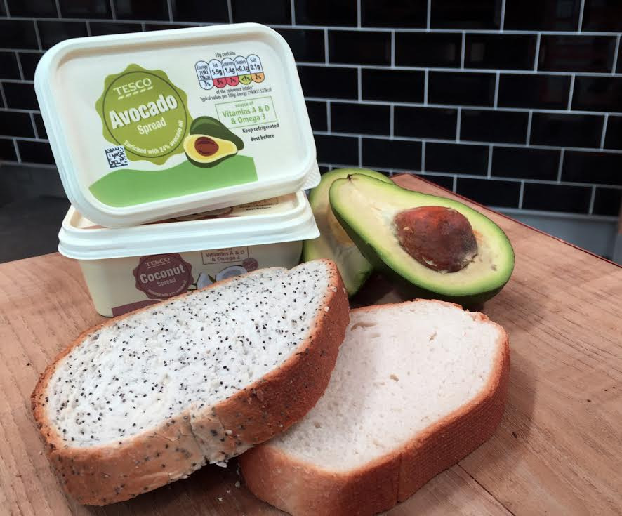tesco launch avocado spread