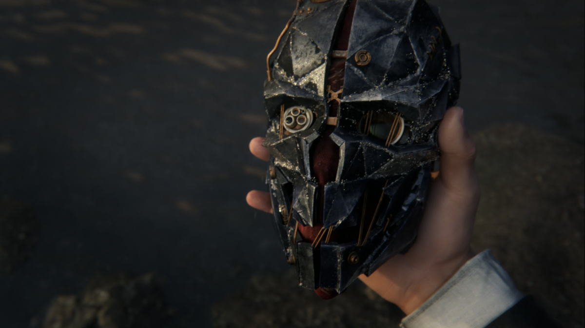 Dishonored 2 Corvo mask