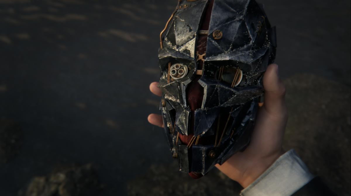 Dishonored 2 Corvo mask