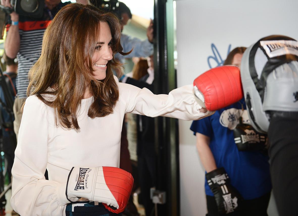 Kate Middleton boxing