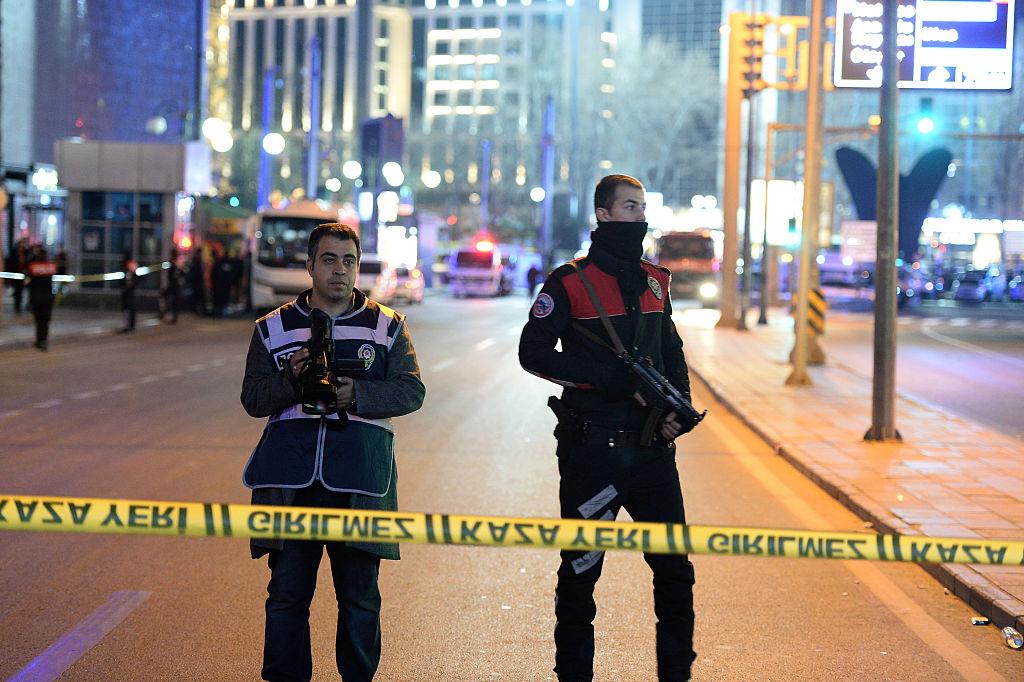 Police Ankara