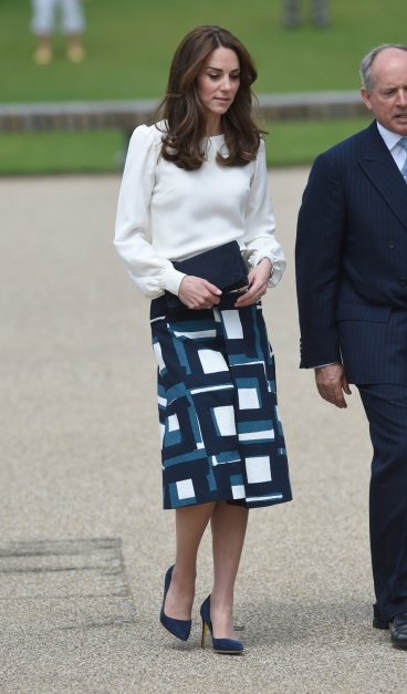 Kate Middleton in Banana Republic