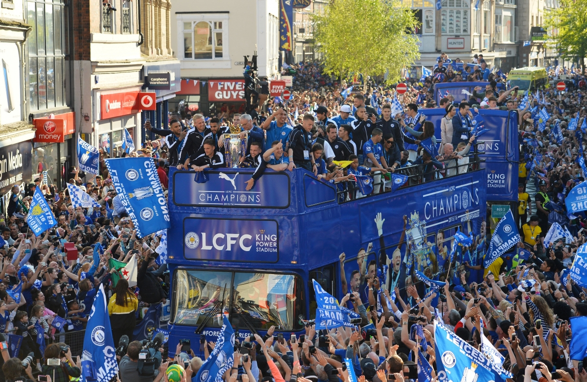 Leicester title