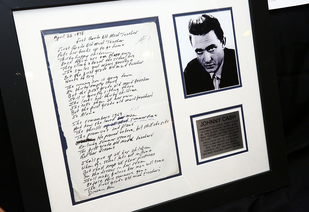 Music Icons Auction