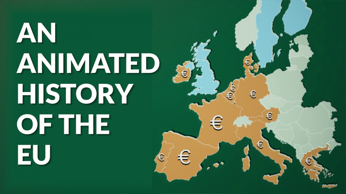 animated history of the EU