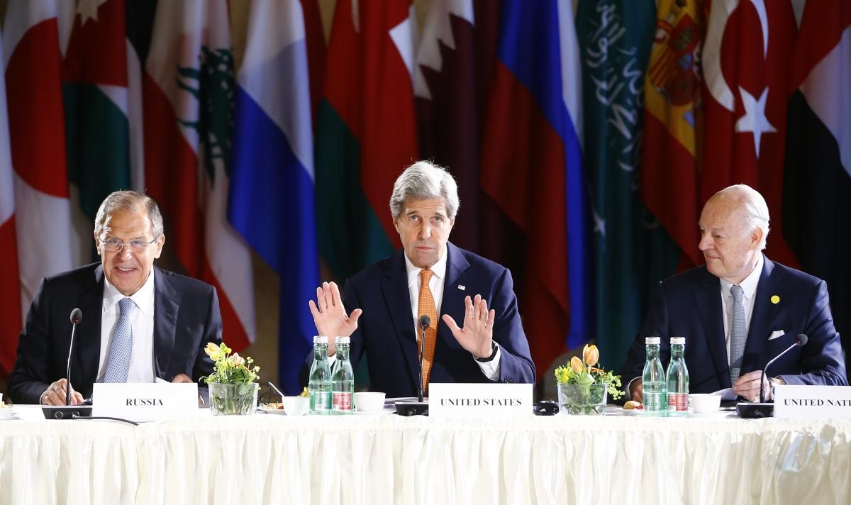 Syria peace talk summit in Vienna