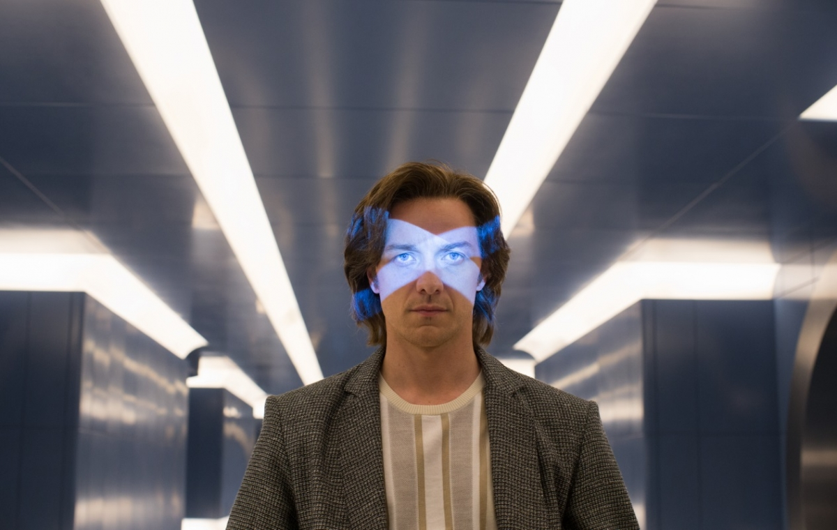 James McAvoy in X-Men: Apocalypse