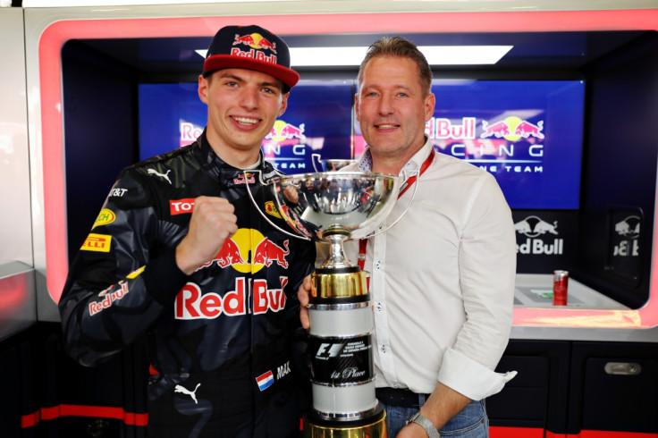 Max and Jos Verstappen