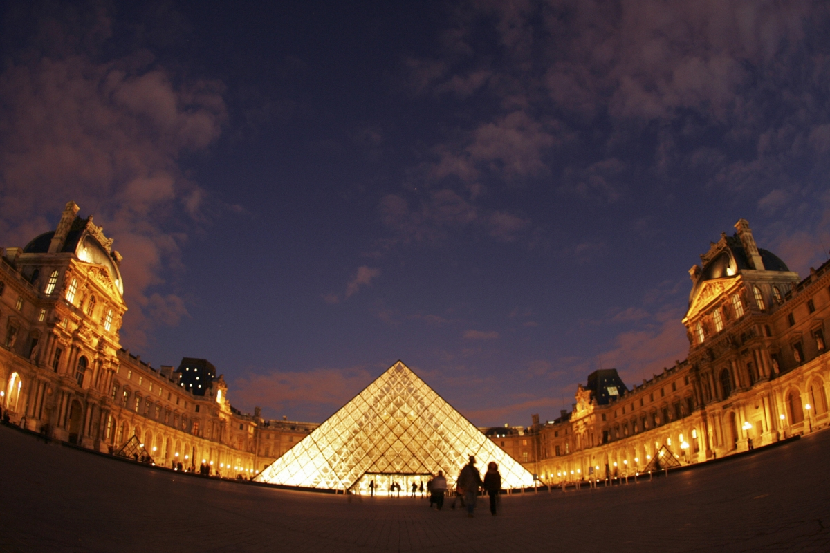 Louvre museum in Paris