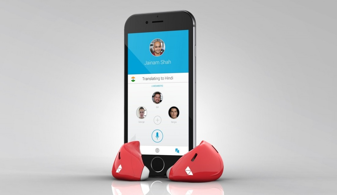 Pilot earpiece and mobile app