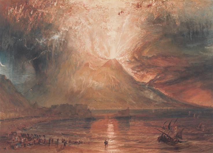 Mount Vesuvius Eruption 79ad