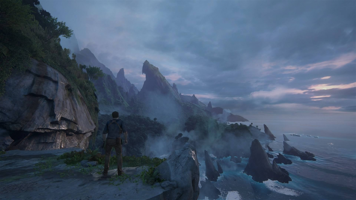 Uncharted 4 island screenshot
