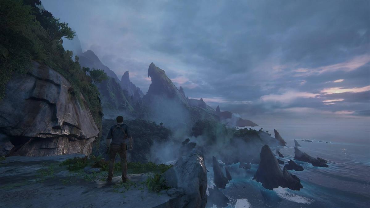 Uncharted 4 island screenshot