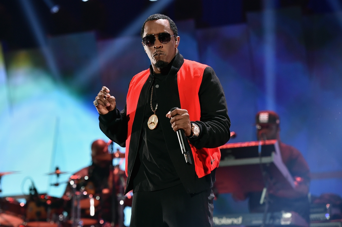 P Diddy concert