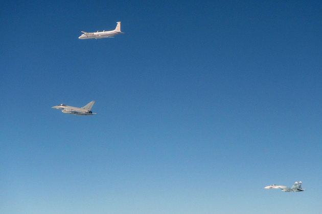 RAF jets scrambled as Russian fighters approach Estonian airspace for 2nd time in a week