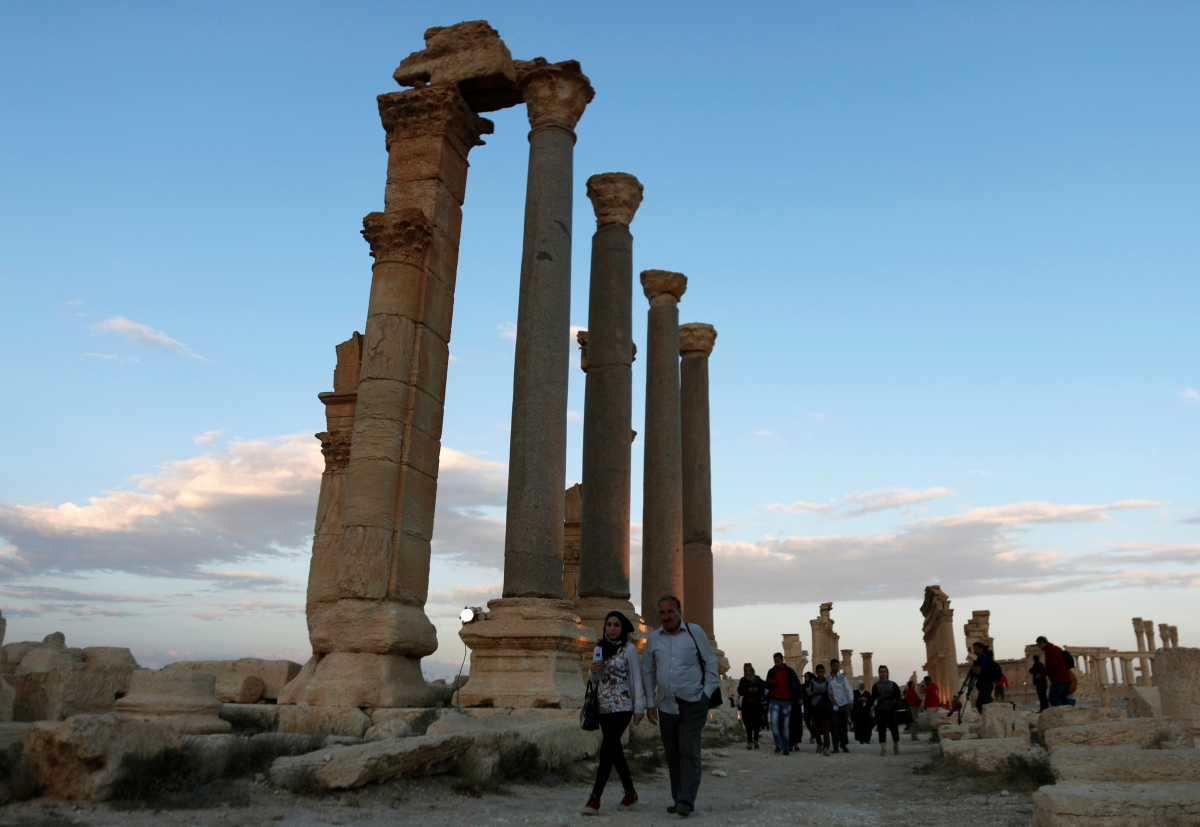 Syria Palmyra Russia