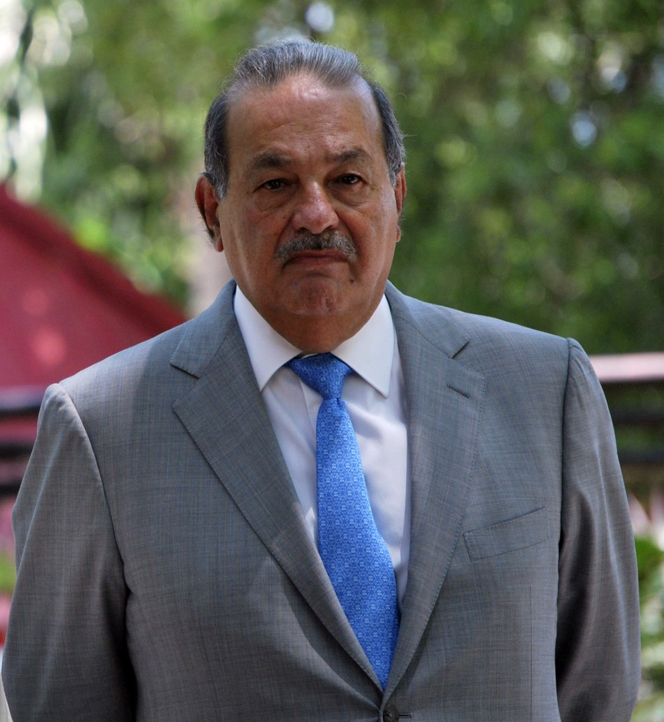 1. Carlos Slim Helu (& family) - Mexico