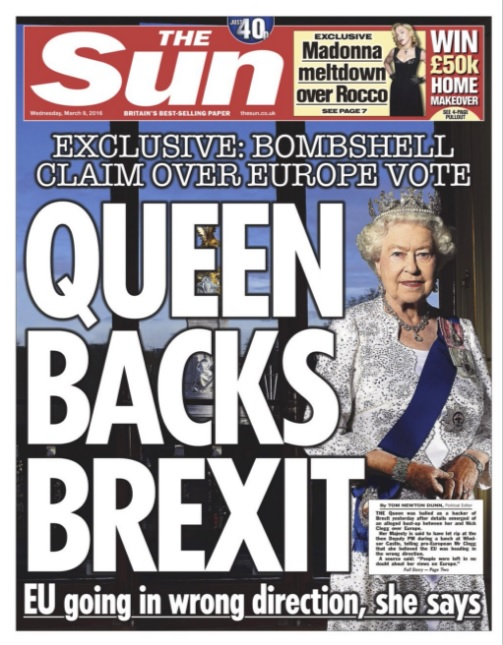 The Sun, 8 March edition