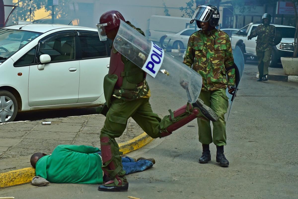 Police brutality in Kenya