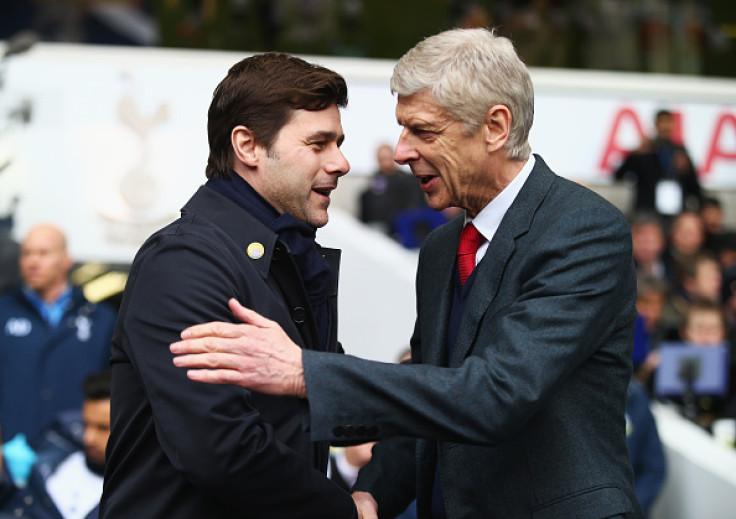 Arsene Wenger and Mauricio Pochettino
