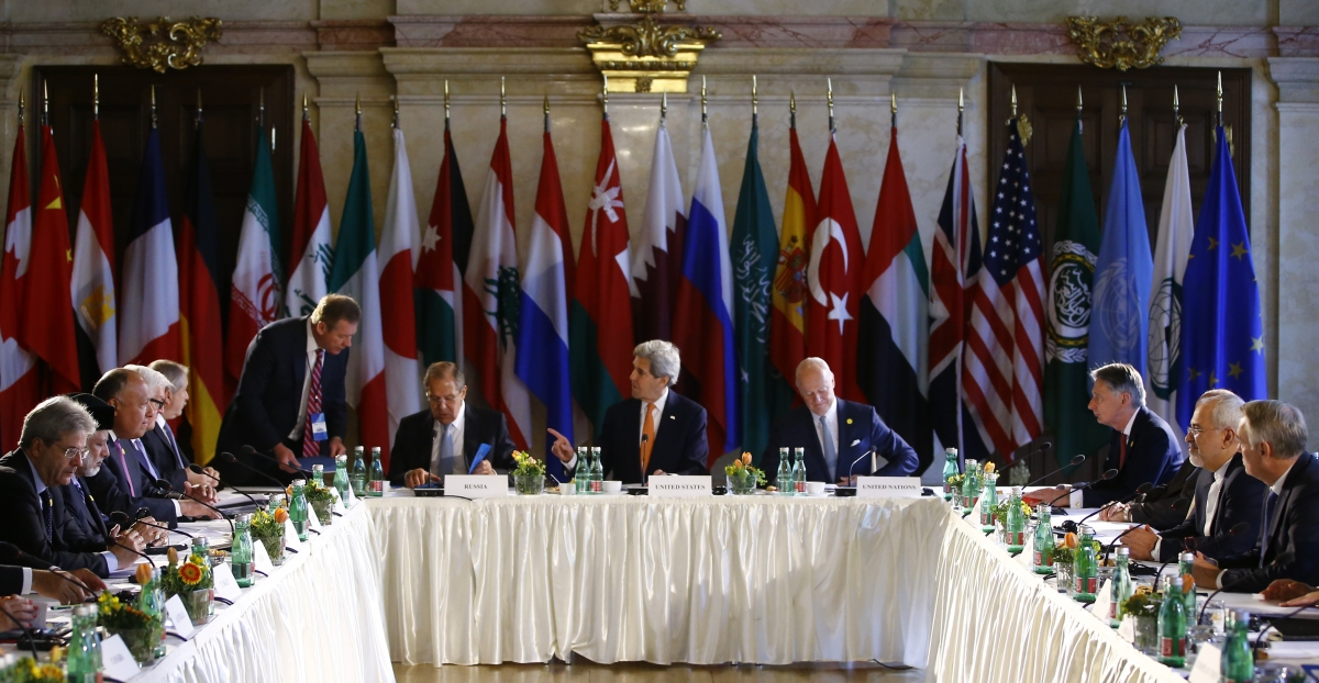 Syria peace talk summit in Vienna