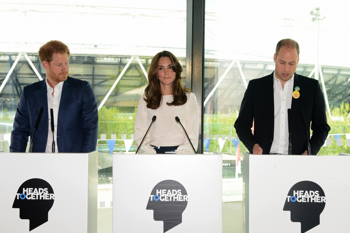 Prince Harry Catherine and Prince William
