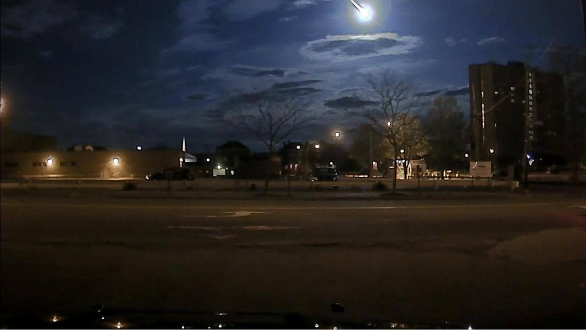 portland meteor fireball