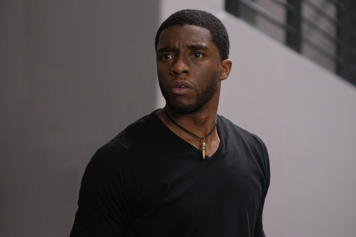 Chadwick Boseman in Captain America: Civil War