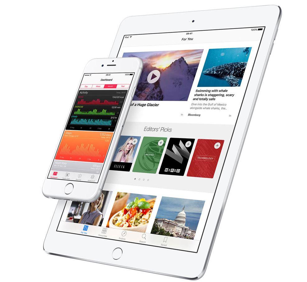 iOS 9.3.2 bricks 9.7in iPad Pro