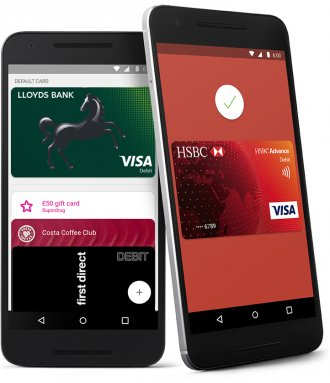 Android Pay cards