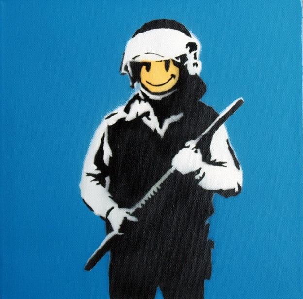 Banksy: War, Capitalism & Liberty