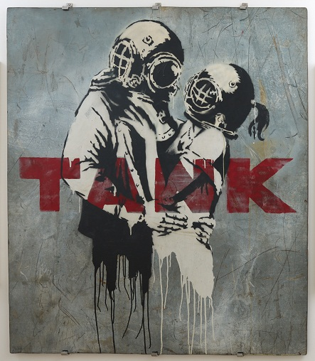 Banksy War, Capitalism  Liberty