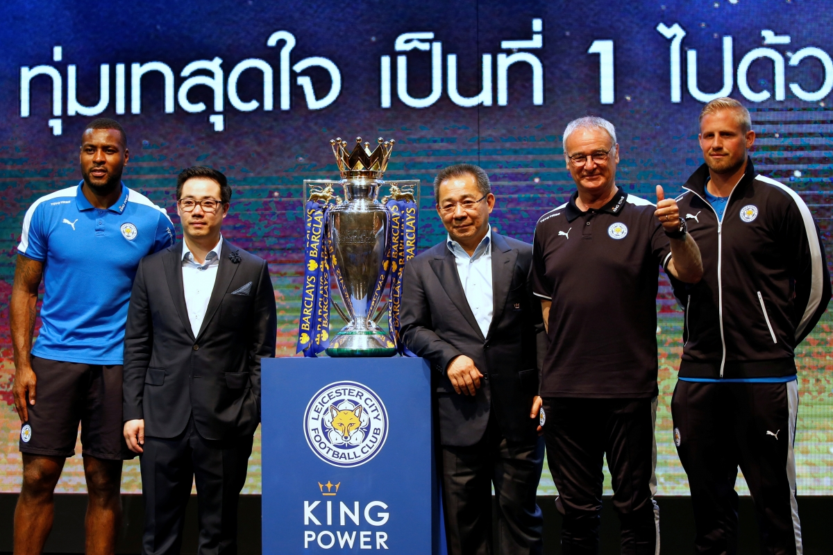 leicester city bangkok thailand 2016 football