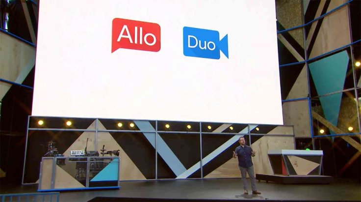 Allo and Duo apps