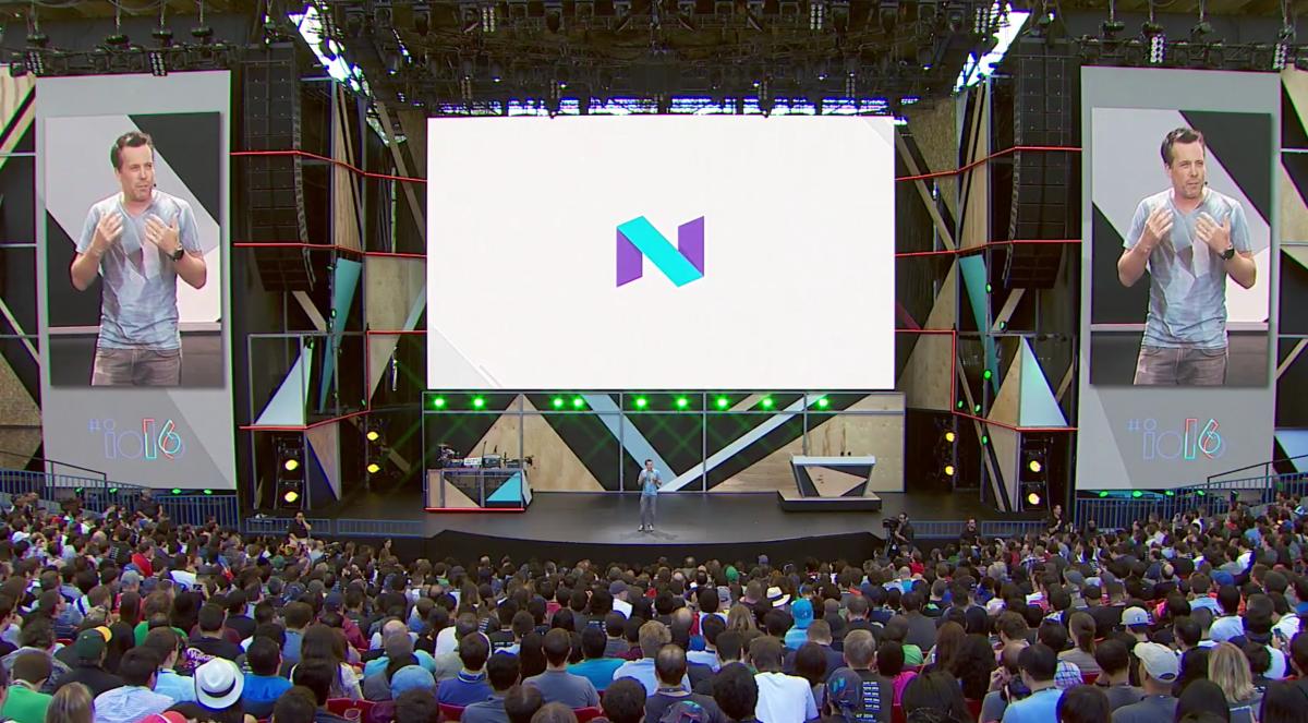 Google I/O 2016 developer conference